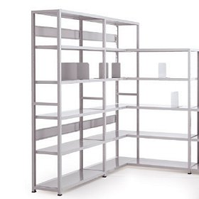 Estanter as met licas prs tecnolog as de almacenaje complementos para oficina estanter as - Estanterias metalicas para libros ...