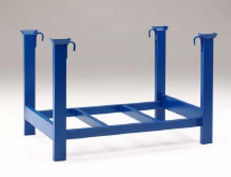 Palets metalicos apilables transportes de paneles de madera - Contenedores metalicos apilables ...